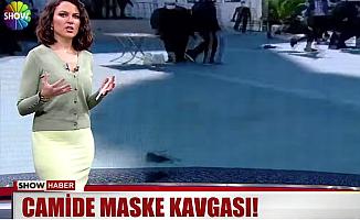 Mersin'de Cuma Namazında Maske Kavgası