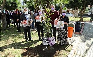 Mersin'de Şiddet'e Kurban Giden 'Feray İçin Adalet' Fidanı