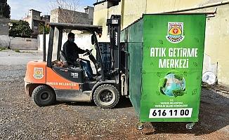 Tarsus Belediyesi Bölgenin İlk Sıfır Atık Getirme Merkezini İlçeye Kazandırdı