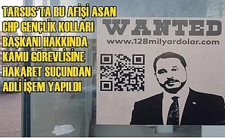 Tarsus CHP Gençlik Kolları Başkanı, Berat Albayrak Hakkında Öyle Birşey Yaptı ki...