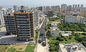 Büyükşehir Yol Yapım Çalışmalarını Erdemli'de Sürdürüyor