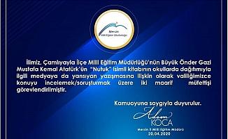 Mersin'de Yasakçı Müdüre Müfettiş Geliyor