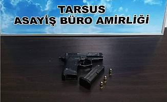 Tarsus'ta Silahla Yaralama Olayının Şüphelisi Yakalandı