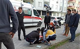 2 Araba Çarpıştı, 1 Kişi Yaralandı
