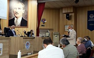 Akdeniz Belediye Meclisinden İsrail Zulmüne Kınama