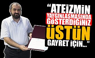 Ateizm Derneği'nden, Mehmet Boynukalın'a Teşekkür
