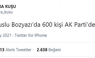 Bozyazı'da AK Parti Tel Tel Dökülüyor