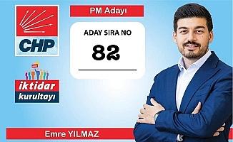 CHP'nin Yeni Parti Meclisi Üyesi Mersin'den Emre Yılmaz Oldu
