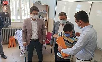 Gülnar Belediyesinden Öğrencilere Sınava Hazırlık Seti