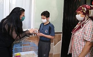 Kas Hastası Semih ve Sefa'nın Annesine, Anneler Günü Sürprizi