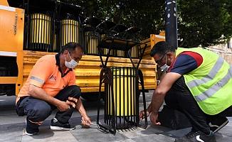 Mersin Büyükşehir, Çöp Kovalarını Yeniliyor