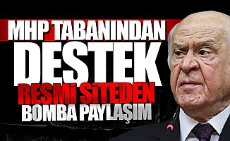 'Tek Adayımız Erdoğan' Diyen Bahçeli 'Kurtuluşu' MHP İktidarında Gördü
