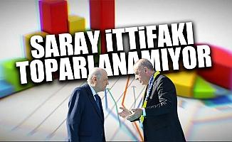 AK Parti'de Büyük Oy Düşüşü MHP ise Baraj Altı