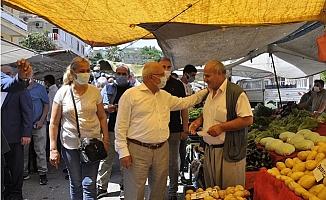 Burhanettin Kocamaz, Gönül Seferberliğini Akdeniz ve Yenişehir'de Sürdürdü