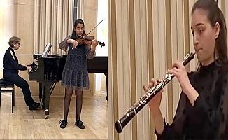 Mersin Üniversitesi Uluslararası Müzik Yarışmasında Ödül Aldı.