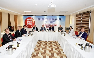 Seçer, Gaziantep'te Belediye Başkanları Çalıştayına Katıldı
