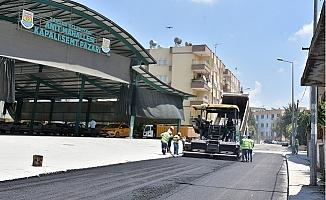 Tarsus Belediyesi Asfalt Çalışmalarını Hızlandırdı.