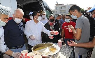 Akdeniz'de 30 Noktada Kurban Kesim Yeri Kuruldu