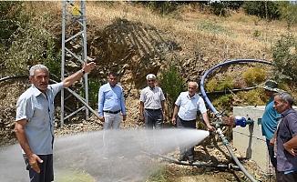 Anamur Alaköprü Sulamasında 6 bin Dekar Arazi Sulamaya Açıldı.
