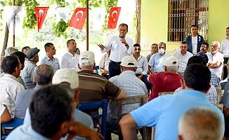 Başkan Seçer, Tarsus'ta Muhtarlar İle Biraraya Geldi.