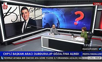 CHP Mezitli İlçe Başkanı Ahmet Serkan Tuncel Gözaltına Alındı.