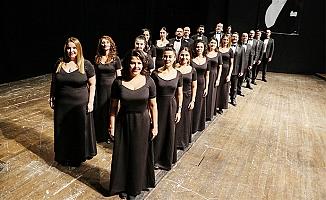 MDOB'dan, Mezitli Amfi Tiyatro'da OperAcapella' Konseri