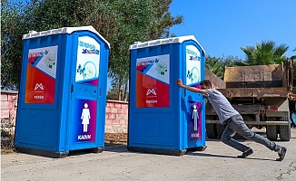 Silifke Yeşilovacık'a Kadar Sahil şeridine Seyyar Tuvaletler