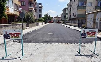 Tarsus'ta Köylerde ve Merkezde Asfaltlama Çalışmaları Tam Hız Devam Ediyor