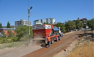 Gülnar Belediyesi İlçe Genelinde Yol ve Asfalt çalışmalarını Sürdürüyor.
