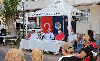 Başkan Gültak Hamidiye Mahallesini Ziyaret Etti.