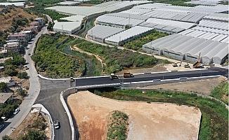 Büyükşehir Lamos Köprüsüne Son Dokunuşları Yapıyor
