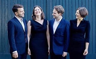 """Damask Vocal Quartet"" Tarsus'ta."