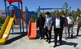 Gülnar Belediyesi Çocuklara Oyun Parkı Kazandırıyor