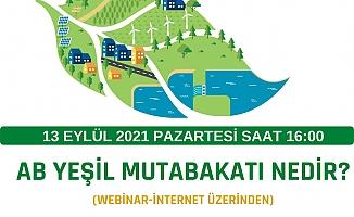 Tarsus TSO Üyelerine 'Yeşil Mutabakatı' Anlatacak