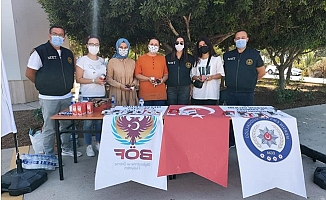 TEM Polisi, Üniversite Öğrencilerini Terör Konusunda Bilgilendirdi.