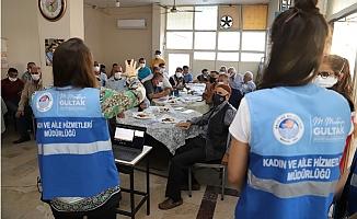 Akdeniz Belediyesi, Kahvehanelerde Kadına Yönelik Şiddet İle Mücadele Toplantıları Yapıyor