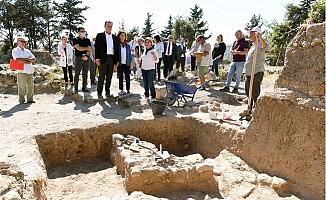 """""""Arkeopark Projesini Hayata Geçirmek İçin Kolları Sıvadık"""""""