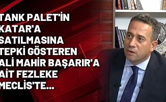 CHP'li Ali Mahir Başarır'ın Fezlekesi Meclis'te