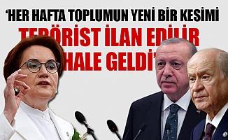"""Meral Akşener; """"İsraf ve Yolsuzluk Batağına Batmış Bürokratların İlham Kaynağı Erdoğan"""