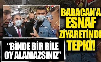 """Mersinli Vatandaştan Ali Babacan'a: """"Binde Bir Bile Oy Alamayacaksınız"""""""