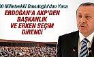 AKP ve Davutoğlu Erdoğan'ı ŞAŞIRTABİLİR