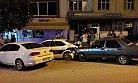Alkollü Sürücü Park Halindeki Polis Aracına Arkadan Çarptı.