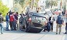 Anamur İlçesinde İki Otomobilin Çarpışması Sonucu 4 Kişi Yaralandı.