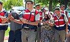 Anamur'da Bohçacı Kılığında Hırsızlık Yapan 1 Erkek, 4 Kadın Yakalandı.