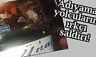 Aydıncık'ta Provokatörlerden Seyahat Otobüsüne Irkçı Saldırı