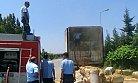 Bu Sıcaklarda Saman Yüklü Tır'da Yangın Korkuttu