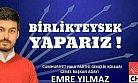 CHP Gençlik Kolları Genel Başkanlığına Mersin'den Aday
