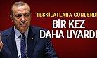 Erdoğan'dan AK Parti Teşkilatlarına Mesaj