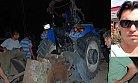 Feci Kazada Devrilen Traktörün Altında Kalan Sürücü Öldü