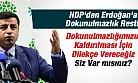 HDP'den Dokunulmazlık Resti: Dilekçe Vereceğiz